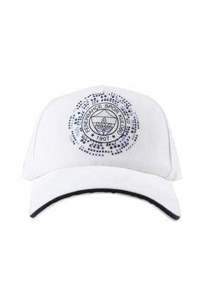 Fenerbahçe Kadın Taşlı Logo Şapka
