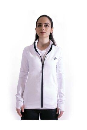 Lotto Sweatshirt Kadın Beyaz-davide Sweat Fz Pl W-r9576