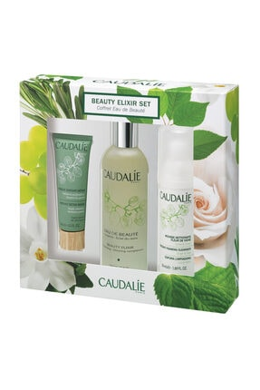 Caudalie Beauty Elixir 100 ml + Masque Instant Detox 15 ml ve Instant Foaming Temizleyici 50 ml 3522930025719