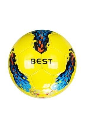 Delta Best  Lazer Yapıştırma 4 Numara Sarı Deluxe Futbol Topu