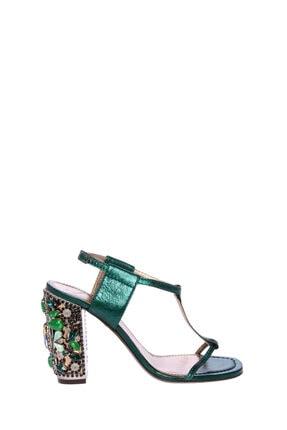 Lanvin Kadın Yeşil Klasik Topuklu Ayakkabı Lnvaw5G1Famıc8A-Green