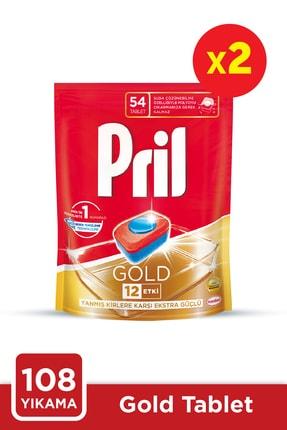 Pril Gold 54 Tablet Doypack 2'li Set