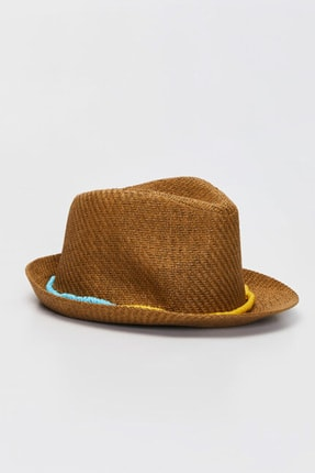 LC Waikiki Erkek Bebek Ekru Fdu Şapka