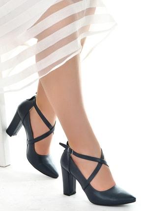 Ayakland 137029-1122 Cilt 9 Cm Topuk Sandalet Ayakkabı