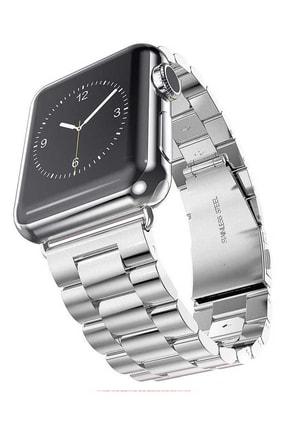 Aksesuarcım Apple Watch 2. Nesil 40mm Renkli Tarz Çelik Saat Kordonu