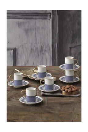 Güral Porselen Gbsatn12kt2395556 Atina 100cc Kahve Fincan Takımı