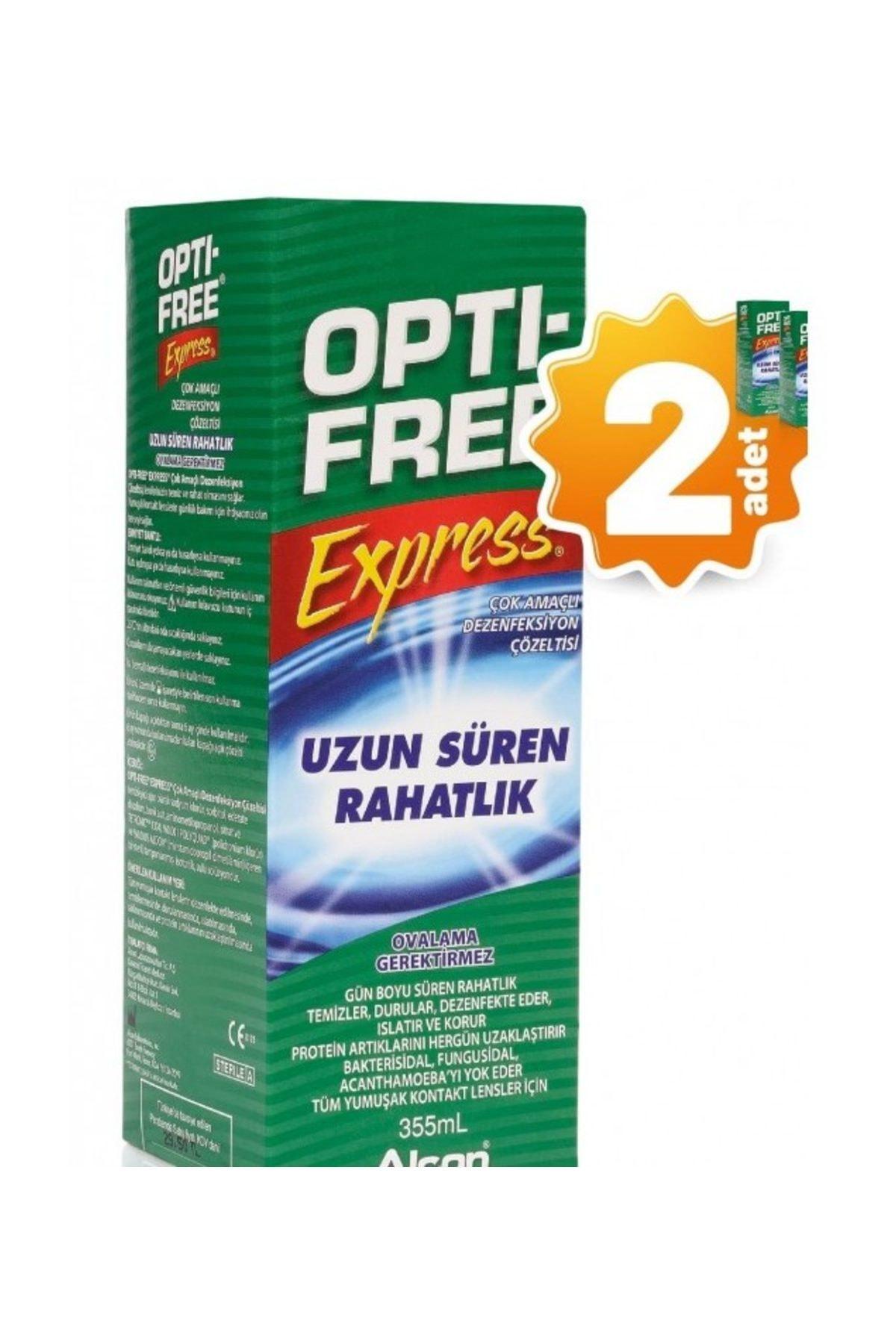 Opti-Free Opti - Free 355 ml Lens Solüsyonu X 2 ADET 1
