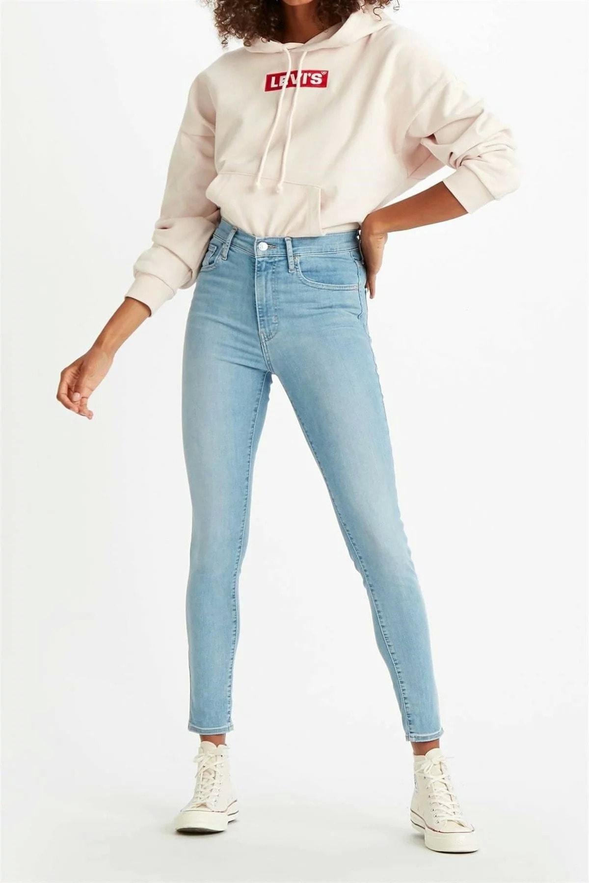 Levi's Kadın Mile High Super Skinny Jean 22791-0110 1