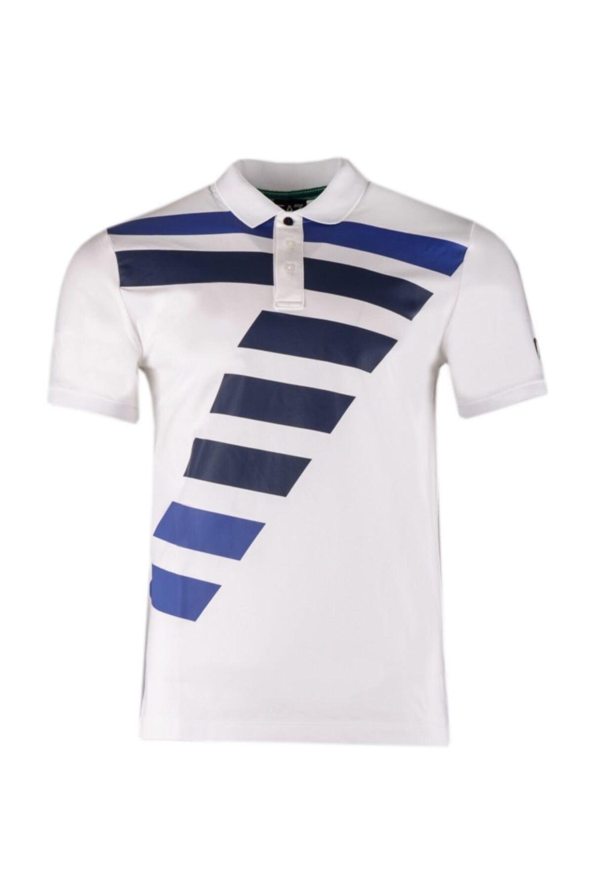 EA7 Erkek Slim Fit Polo T-shirt 3zpf81 Pj20z 1