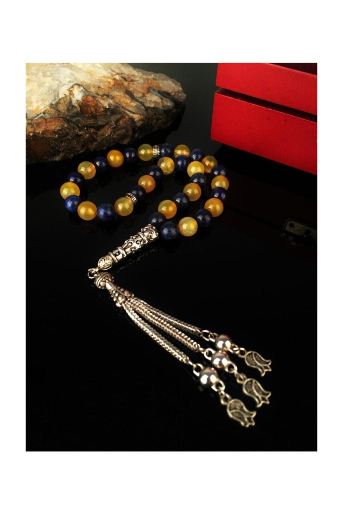 Dr. Stone Dr Stone Doğaltaş Lapis Lazuli Tesbih Xah31 1