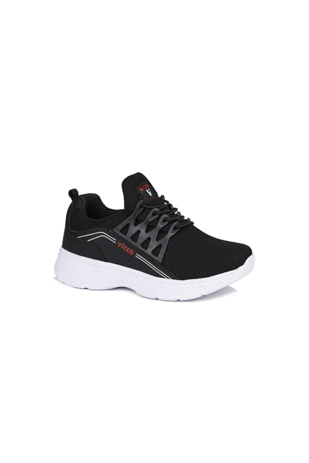 Vicco Spider Spor Ayakkabı Siyah 2