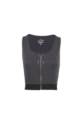 Slazenger Pro Fıt Kadın T-shirt K.gri St10tk021