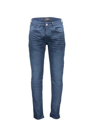 Collezione Indigo Erkek Indigo Spor Slim Denim Pantolon
