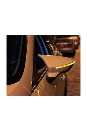 BoostZone Beyaz Boyalı Seat Leon 2012-2018 Arası Batman Ayna Kapağı Abs Plastik
