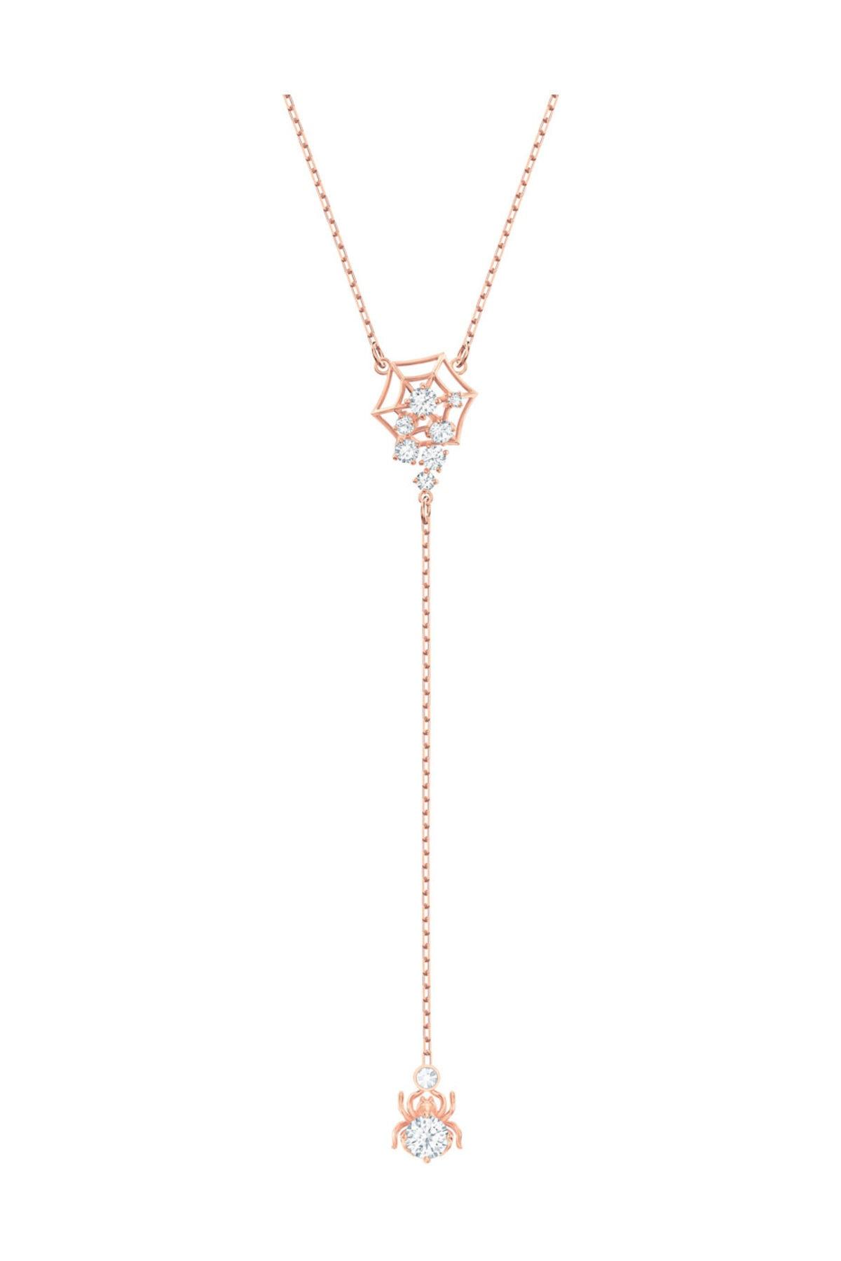 Swarovski Kolye Precisely:Necklace Y Czwh/Cry/Ros 5499885 1