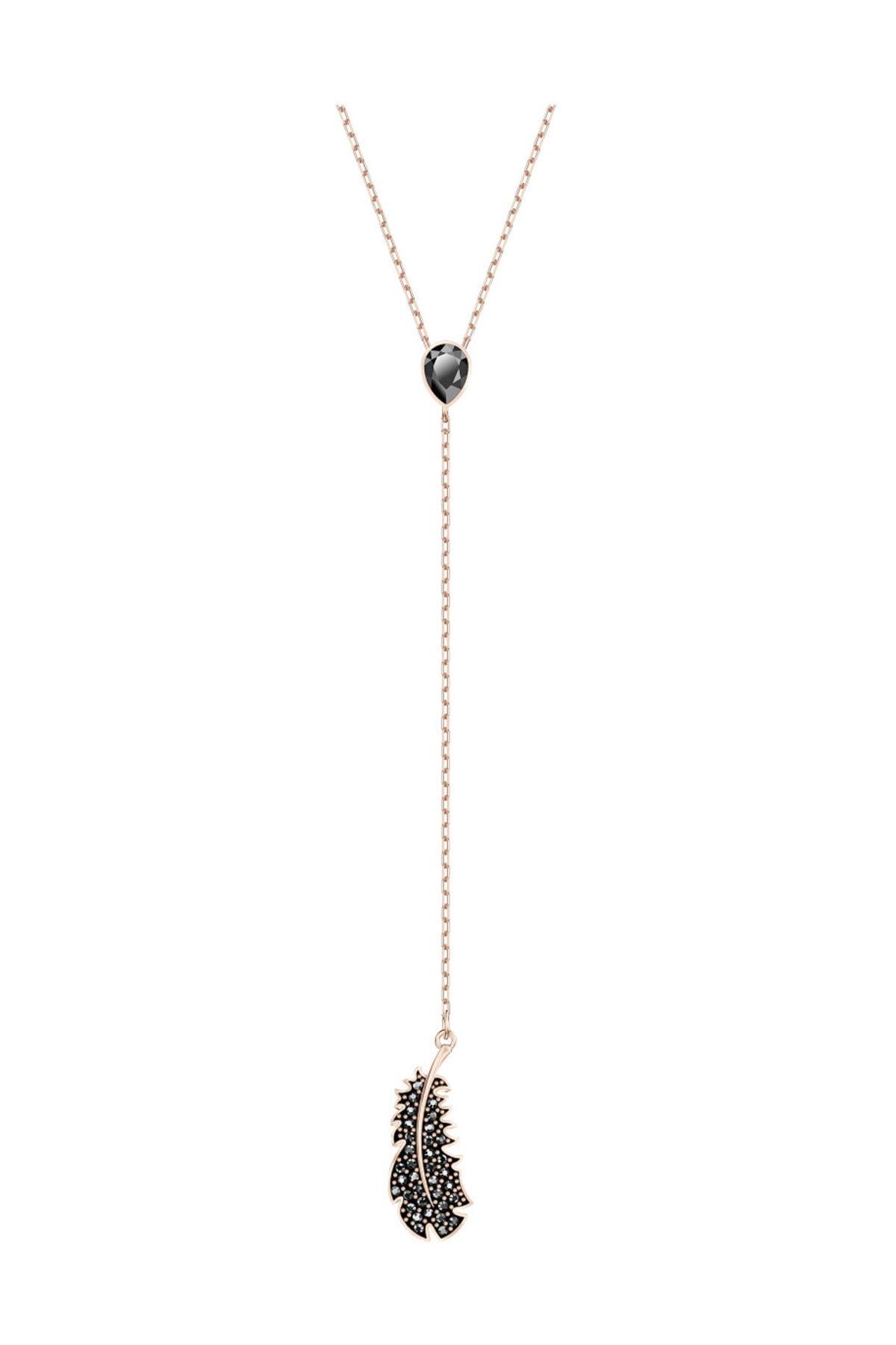 Swarovski Kolye Naughty:Necklace Y Jet Hem/Ros 5495299 1