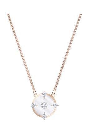 Swarovski Kolye North:Necklace Glass Czwh/Ros 5488400