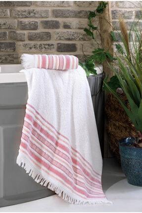 Nakkısh %100 Pamuk Banyo Havlu Seti 70x130-50x90-defne