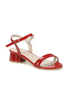 Polaris 91.313190.z Kırmızı Kadın Topuklu Sandalet