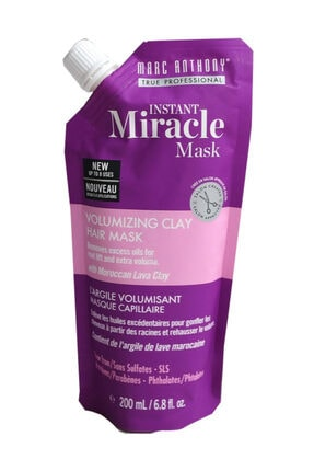 MARC ANTHONY Instant Miracle Mask Volumizing Clay Hair Mask 200 ml