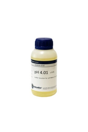 Gündüz Kimya Ph 4 Kalibrasyon Sıvısı - Ph Buffer - 250 ml