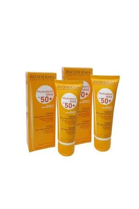 Bioderma Photoderm Max Spf50 Cream 40mlx2 Adet Güneş Koruma GLB20200428001-01