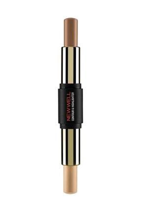 New Well Stik Kontür & Aydınlatıcı - Stick Contour & Highlighter 8680923306254