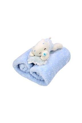 İpekçe  Tomurcuk Bebek Battaniyesi 90*110 cm - Oyuncaklı