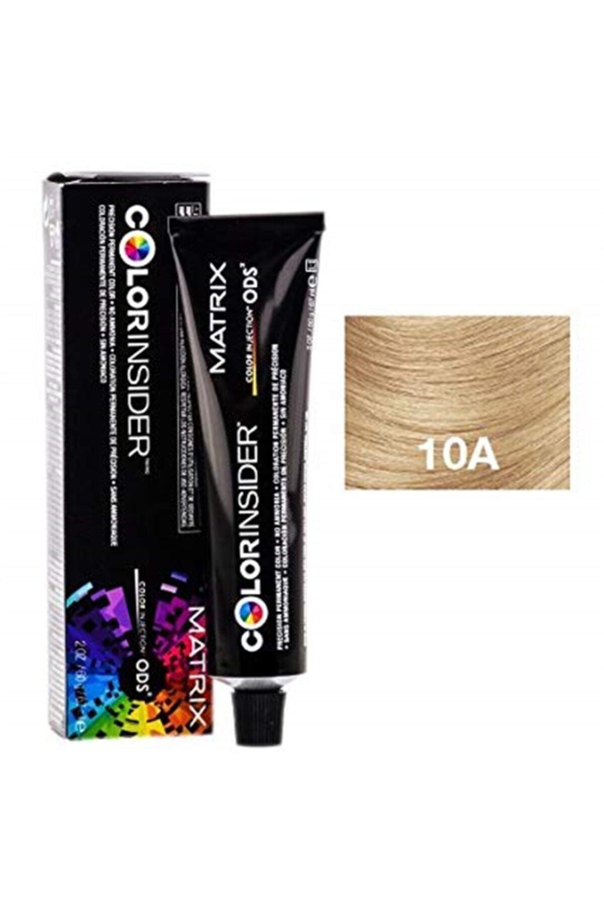 Matrix Color Insider Saç Boyası 10a Extra Light Blonde Ash 1