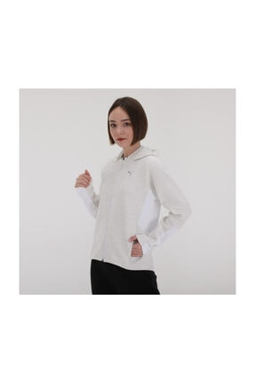 Puma EVOSTRIPE Kapüşonlu Fermuarlı Kadın Ceket