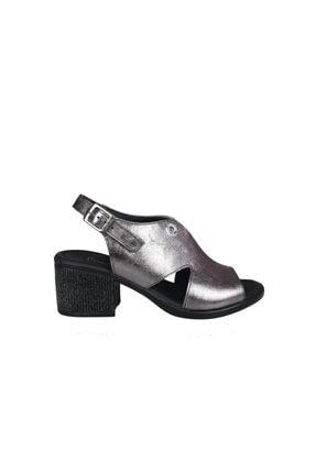 Pierre Cardin Pc-6319 Platin Kadın Topuklu Ayakkabı