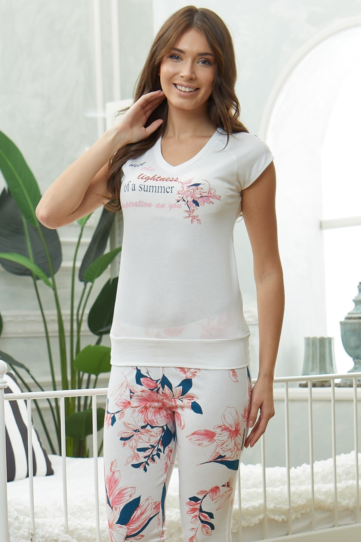 Lohusa Sepeti Kadın Temporada Pijama Takımı-08827 2