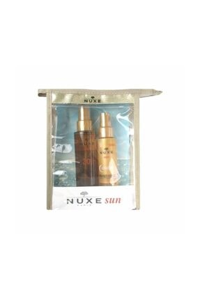 Nuxe Sun Spf30 Tanning Oil High Protection 150ml Set
