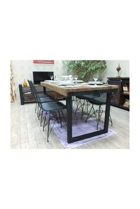 NT Concept Ntconcept Masif Ağaç Yemek Masası - 85cm-125cm Masa