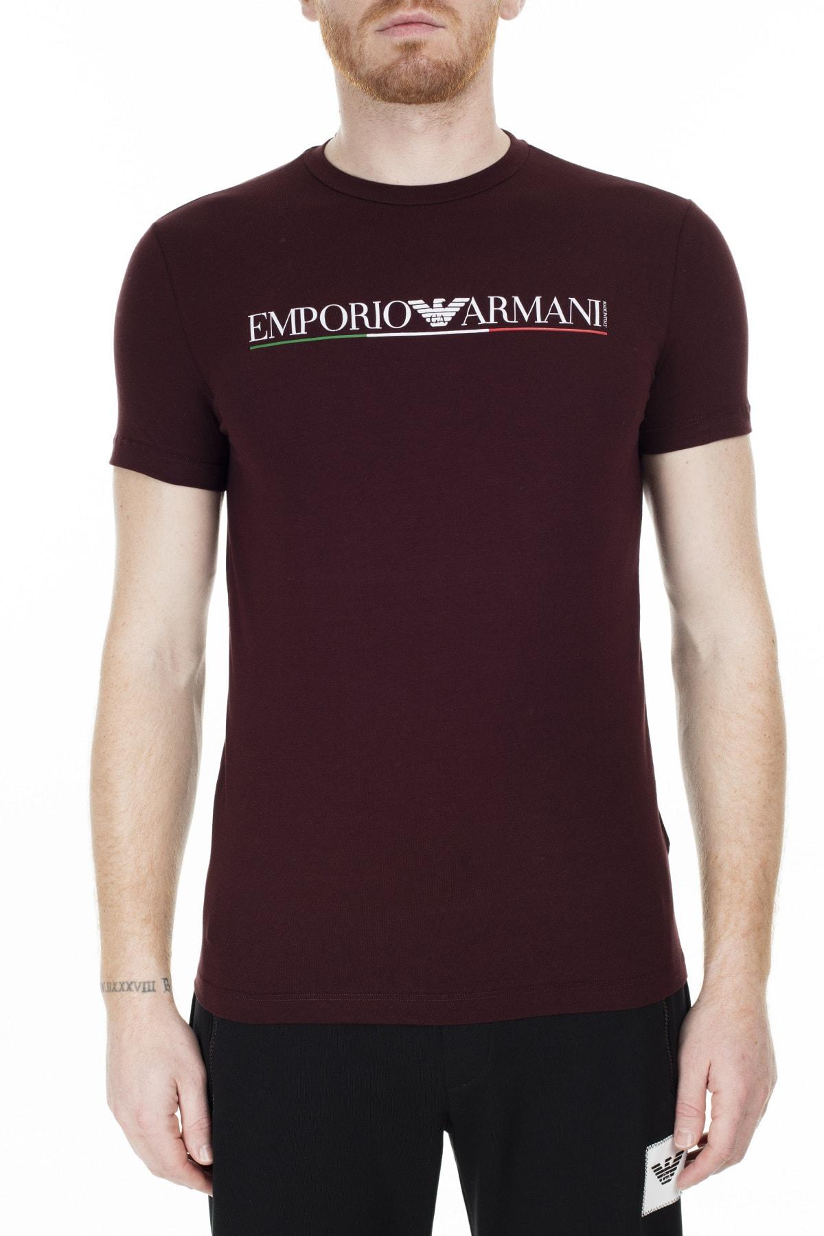 Emporio Armani T Shirt Erkek T Shirt S 6G1Tb8 1J11Z 0348 S 6G1TB8 1J11Z 0348
