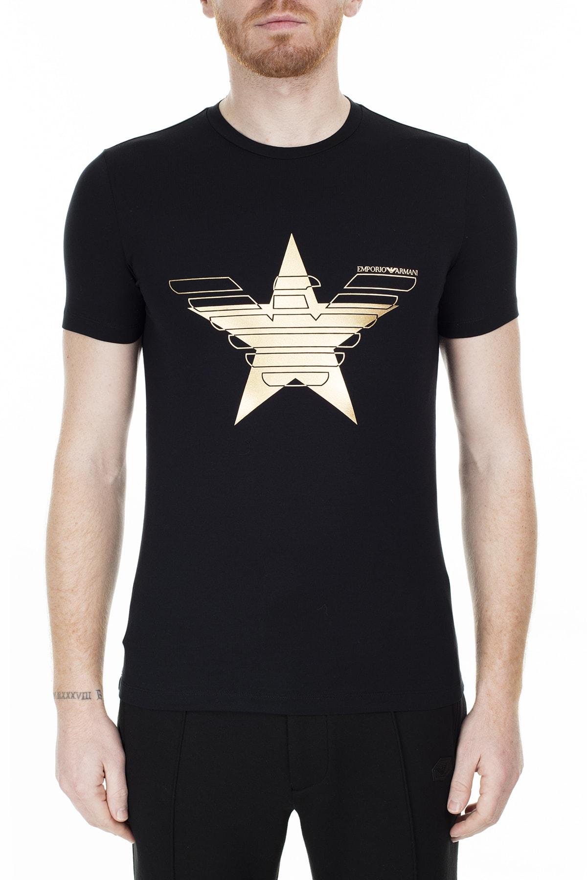 Emporio Armani Slim Fit T Shirt Erkek T Shirt S 6G1Tb6 1J0Az 0999 S 6G1TB6 1J0AZ 0999