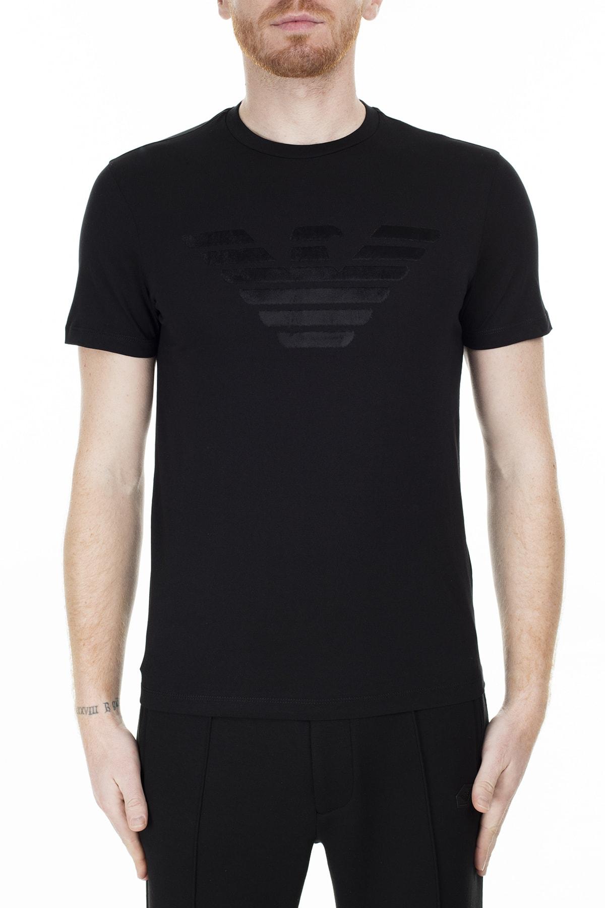 Emporio Armani Regular Fit T Shirt Erkek T Shirt S 6G1Te6 1J00Z 0999 S 6G1TE6 1J00Z 0999