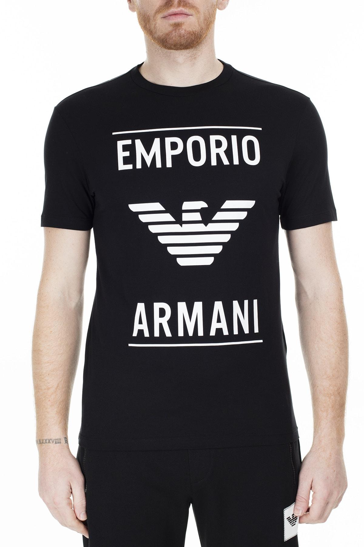 Emporio Armani T Shirt Erkek T Shirt S 6G1Te7 1Jnqz 0999 S 6G1TE7 1JNQZ 0999