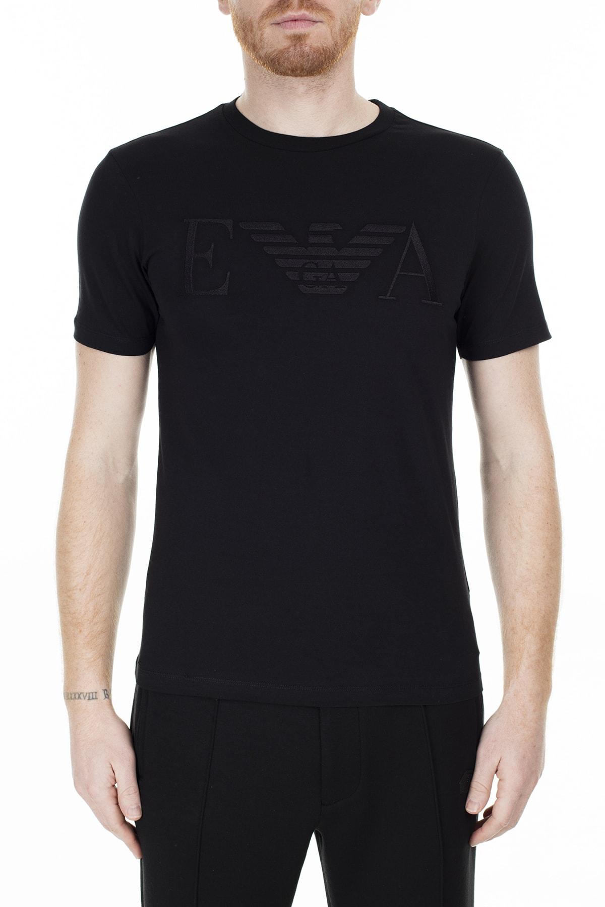 Emporio Armani T Shirt Erkek T Shirt S 6G1Tc2 1J00Z 0999 S 6G1TC2 1J00Z 0999