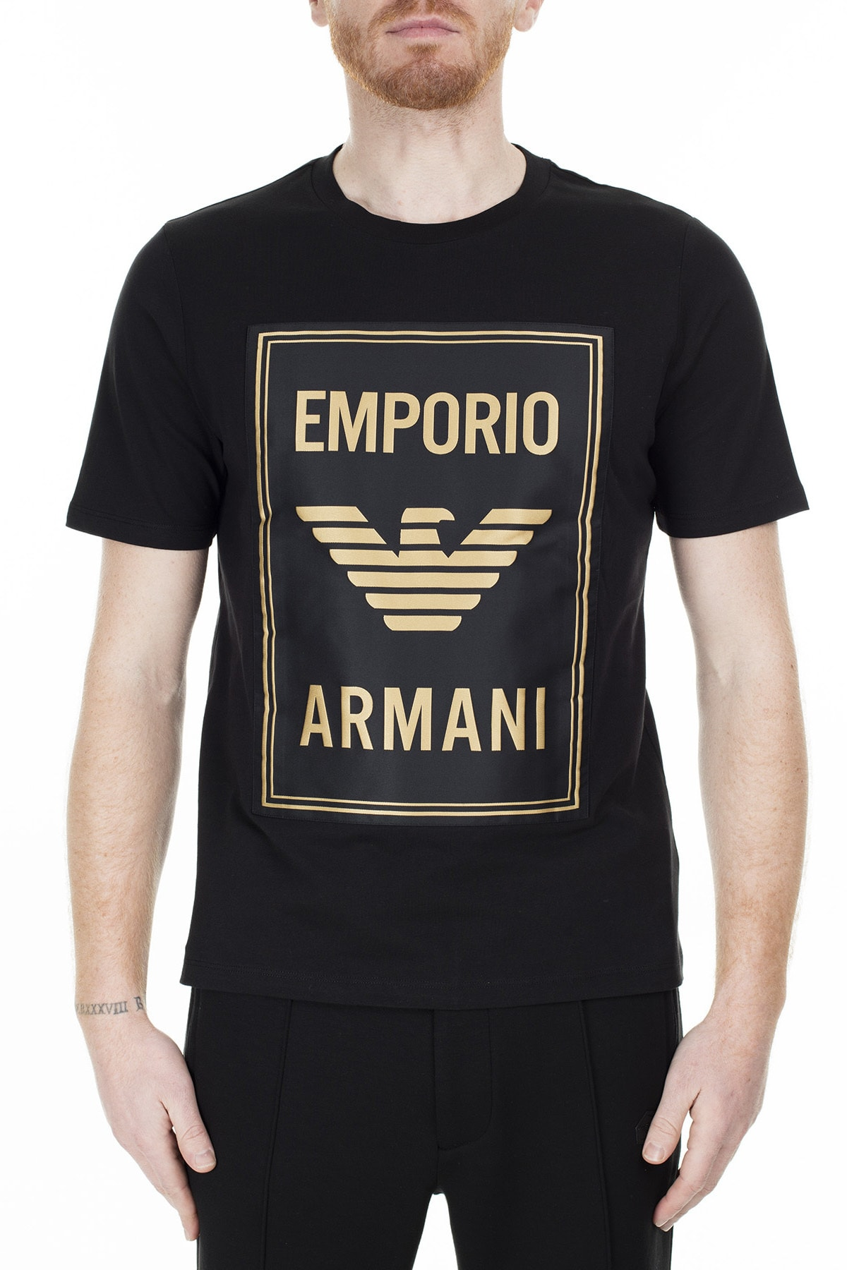 Emporio Armani T Shirt Erkek T Shirt S 6G1Te0 1J00Z 0999 S 6G1TE0 1J00Z 0999