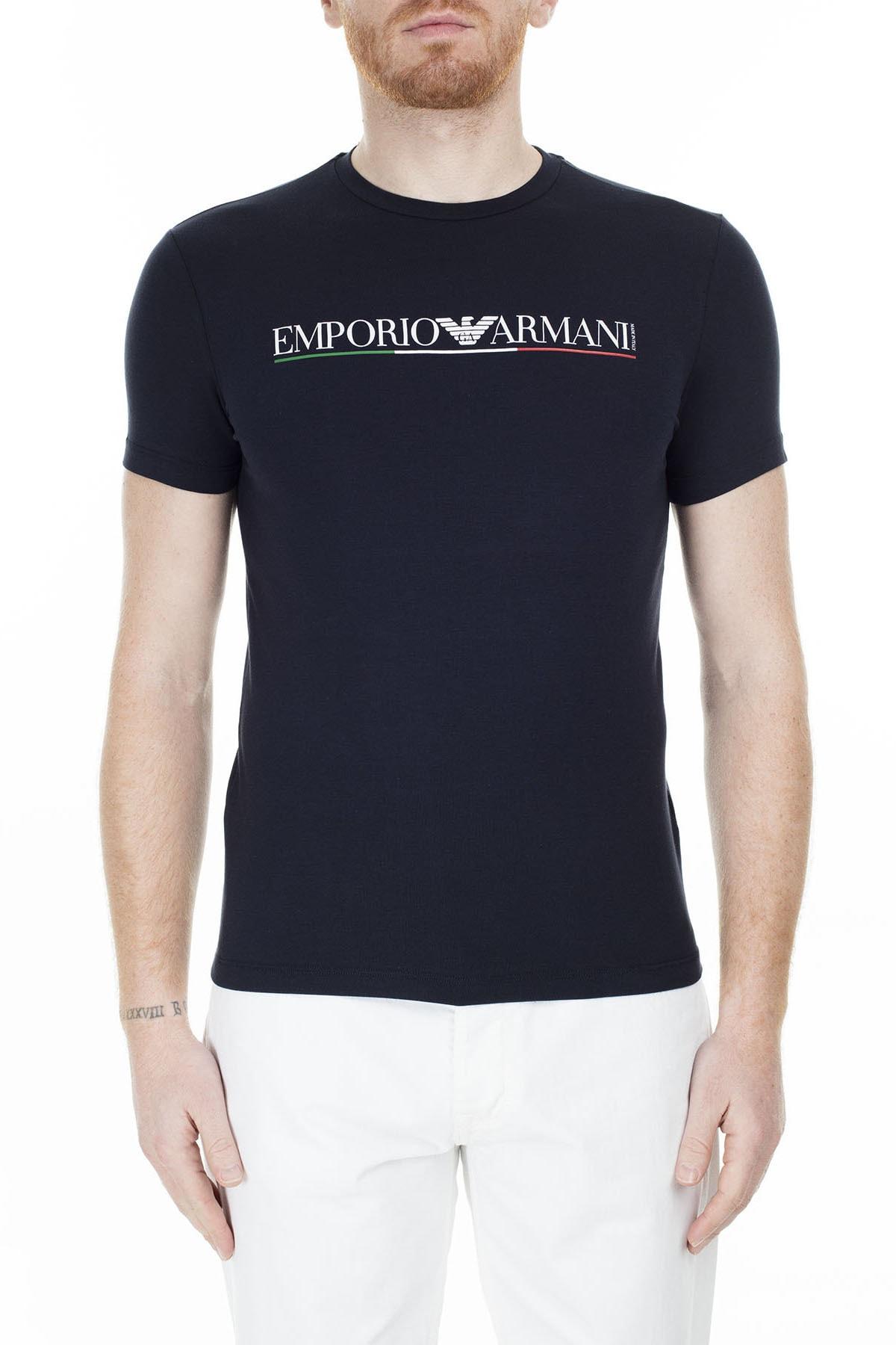 Emporio Armani T Shirt Erkek T Shirt S 6G1Tb8 1J11Z 0922 S 6G1TB8 1J11Z 0922