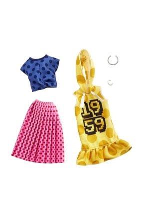 Barbie bebek Kıyafetleri Ikili Paket Fkt27-ghx60