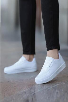 MUGGO Beyaz Unısex Sneaker Ayakkabı
