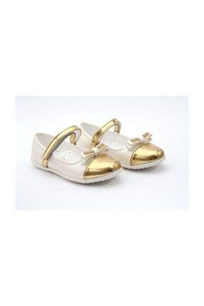 Sanbe Kız Çocuk Babet Beyaz Ayakkabı