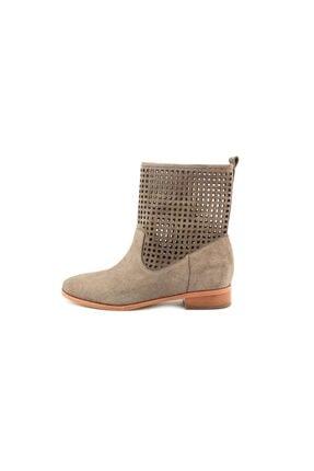 Michael Kors Graham Ankle Boot Kadın  Bot Çimento Rengi 40s4ghme5s - 39