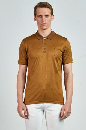 Giovane Gentile Erkek Ekru T-Shirt LC0651202108