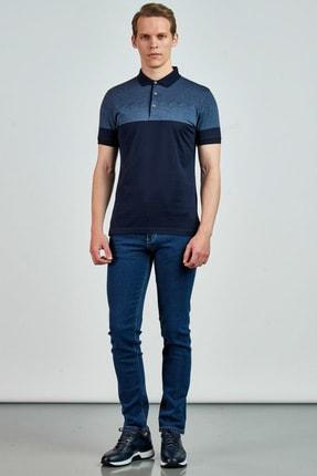 Giovane Gentile Erkek Lacivert T-Shirt LB065020195522