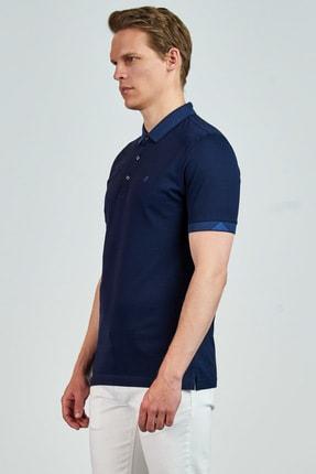 Giovane Gentile Erkek Lacivert T-Shirt LB065020180820