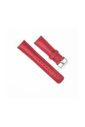 Bouletta Akıllı Saat Uyumlu Deri Kordon Cz04 Kırmızı