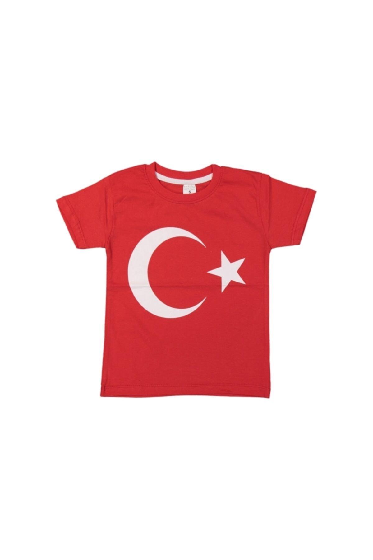 durul store Türk Bayraklı Çocuk Tişört 1
